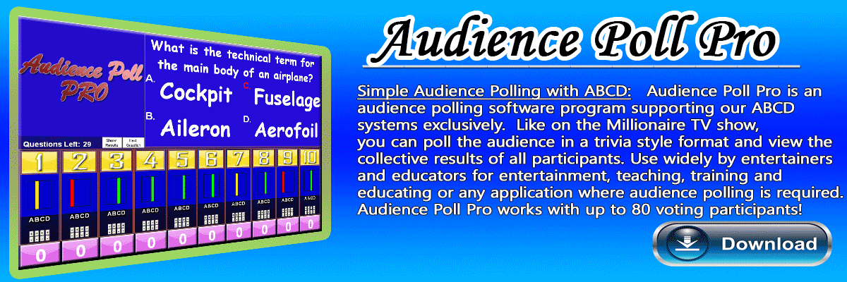 Audience Polling Software Game