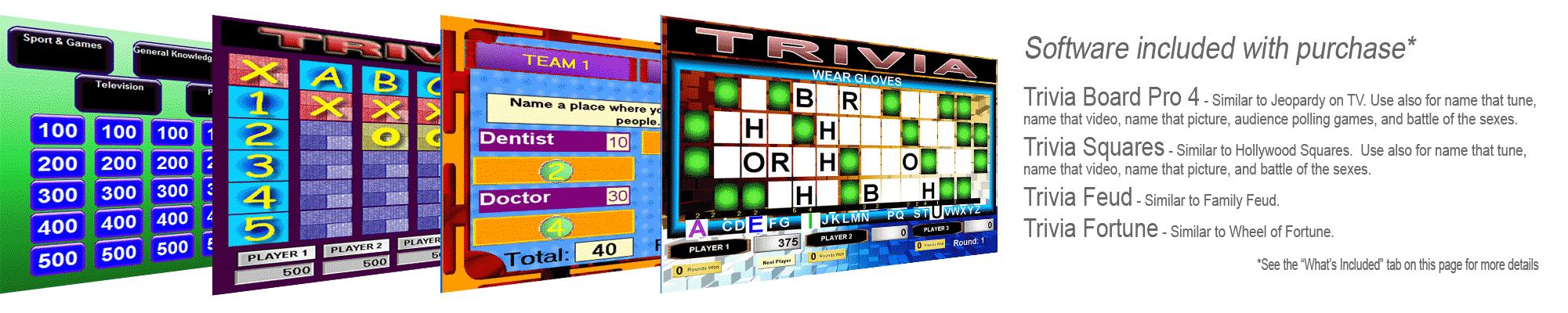 Trivia Software Games