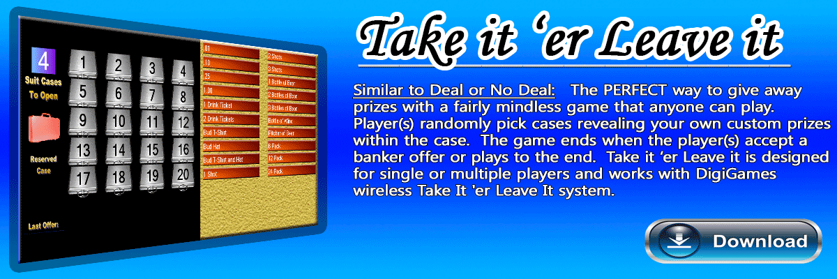 Deal or No Deal Software Game