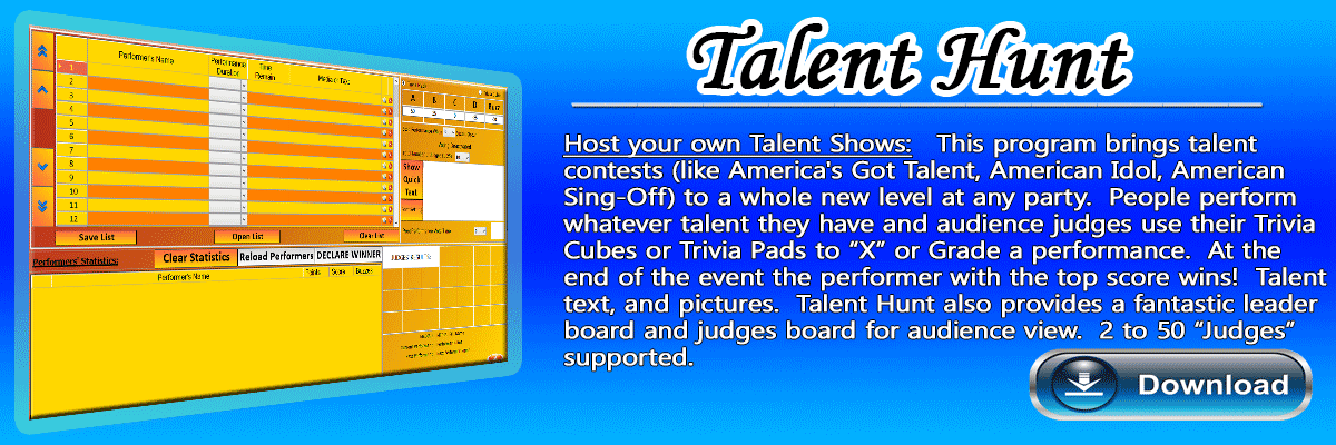 American Idol Judging Software Tool