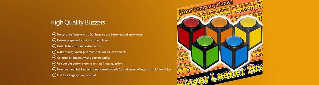 Wireless Game Show Buzzers Trivia Buzzer System Games