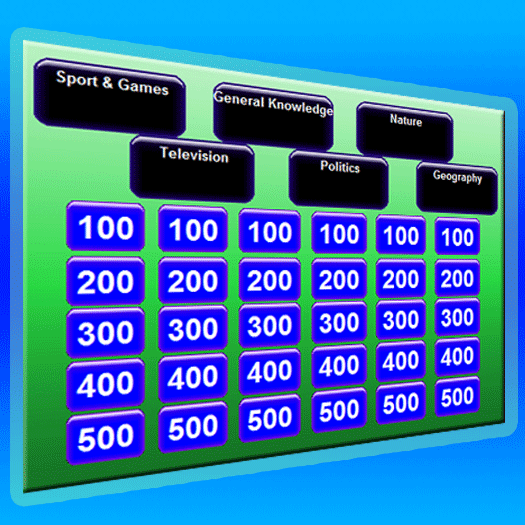 Bible Jeopardy Game Software