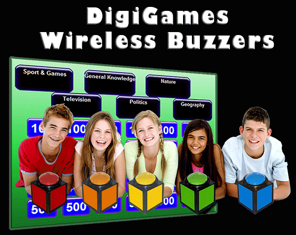 Bible Quiz Buzzer System