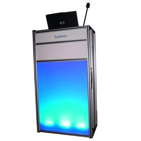 Illuminating LED Host Podium