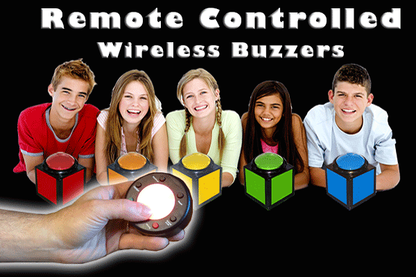 wireless buzzer stand alone remote controlled